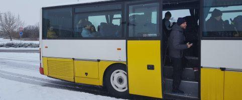 Odjezdy autobusů